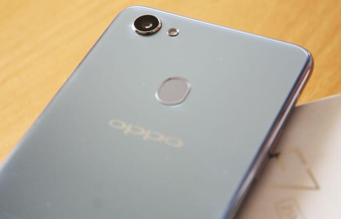 OPPO F7 camera