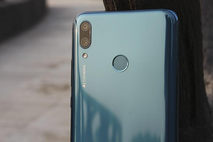 Wide Aperture on Huawei Y9 2019