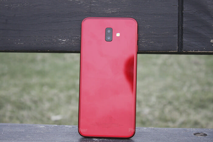 Samsung j6 Plus Back