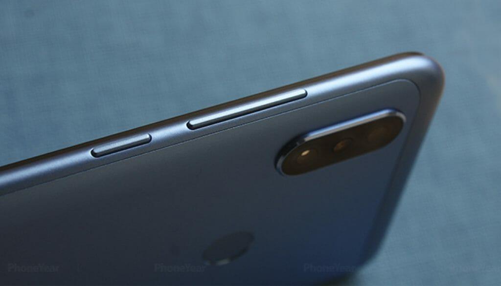 Xiaomi Redmi Note 6 pro power key