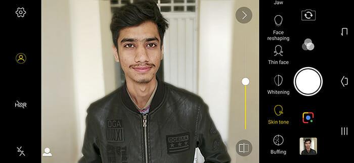 Vivo v11 Pro AI Face Beauty