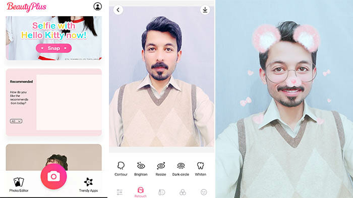 Beauty Plus selfie app