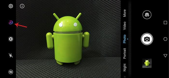 Honor 10 lite Auto Mode Screenshot