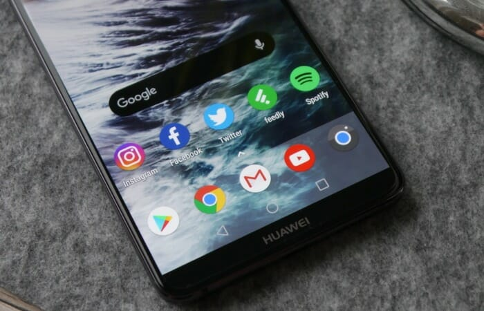 Launcher on Huawei phones