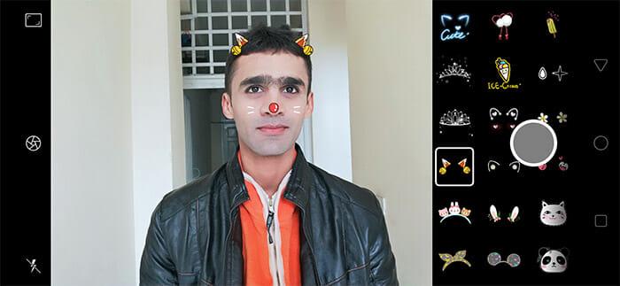 Realme 2 Pro AR Stickers Screenshot