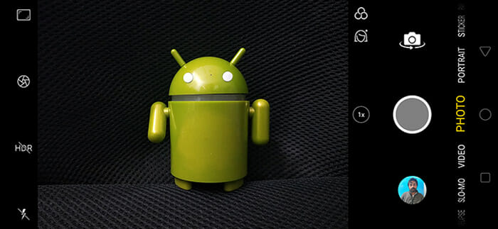 Realme 2 Pro Auto Mode Screenshot