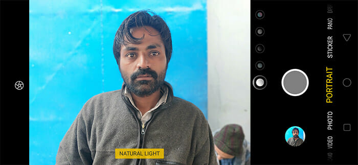 Realme 2 Pro Portrait Mode Screenshot