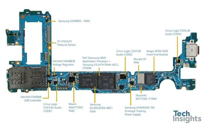 Galaxy S10 Plus board-Side 1