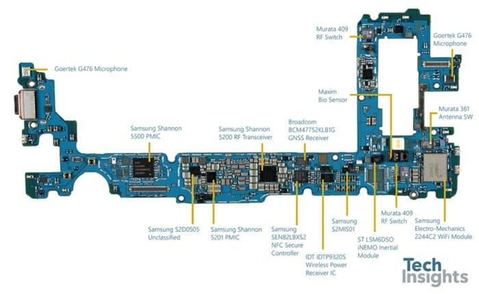 Galaxy S10 Plus board-Side 2
