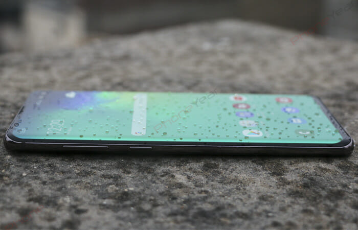 Galaxy S10 Plus water resistance