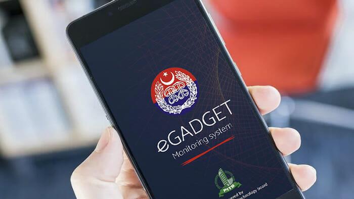 eGadget app