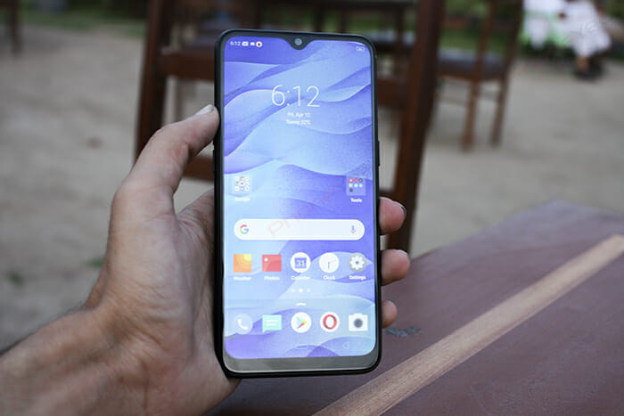 Realme 3 Display in Sunlight