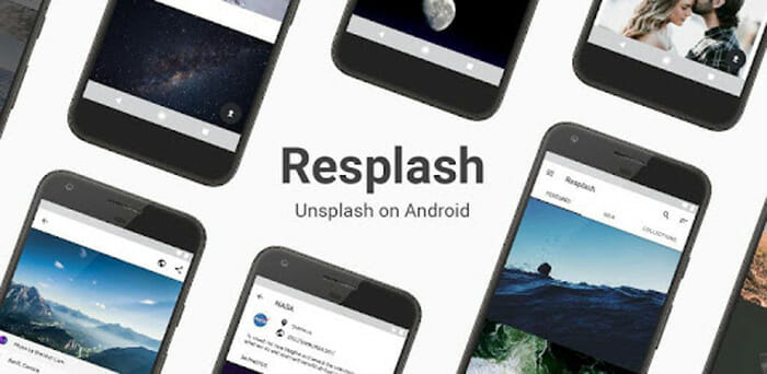Resplash app