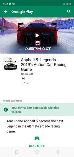 OPPO A5s Asphalt 9