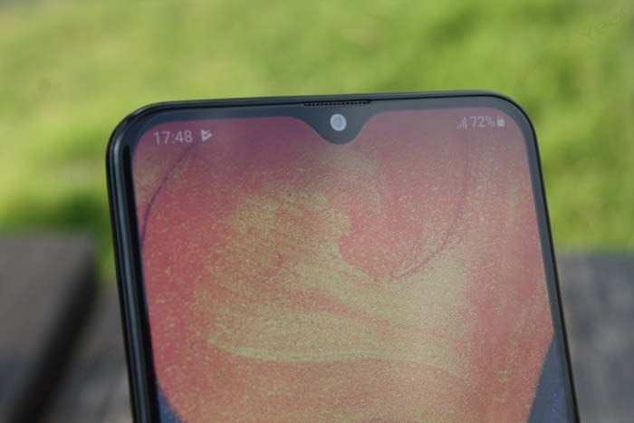 Samsung Galaxy A20 notch