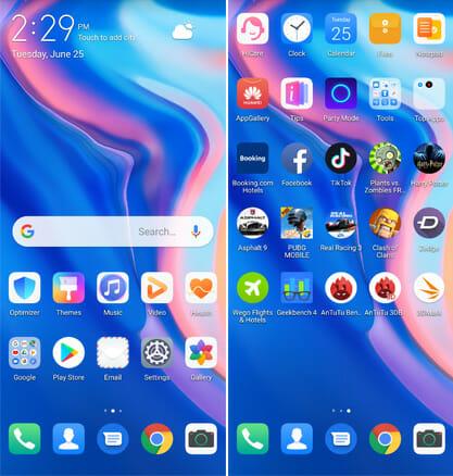 Huawei Y9 Prime 2019 EMUI 9