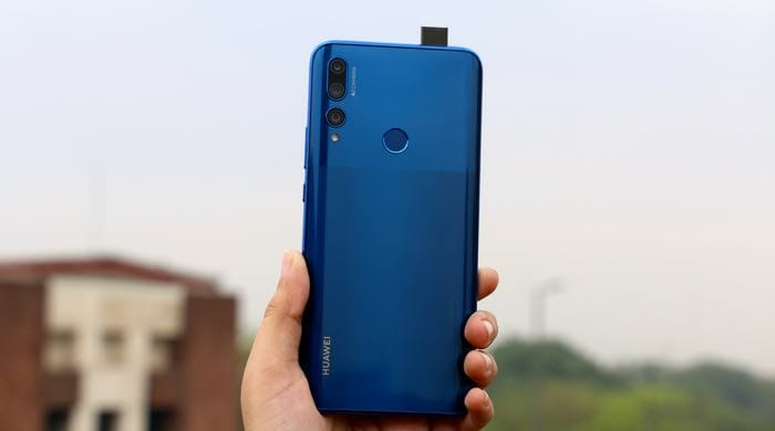 huawei y9 prime 2019 back with selfie camera