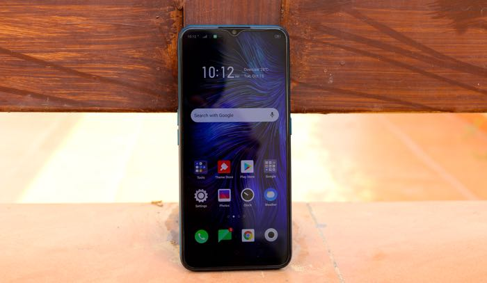 oppo a9 2020 front display