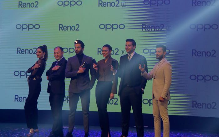 oppo team with phones