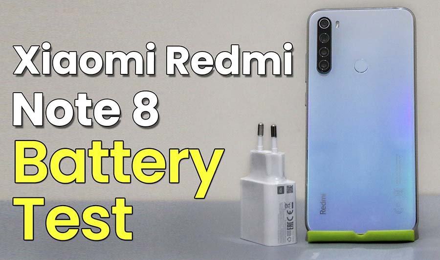 Xiaomi Redmi Note 8 Battery Test