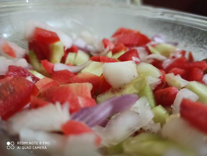 salad - macro