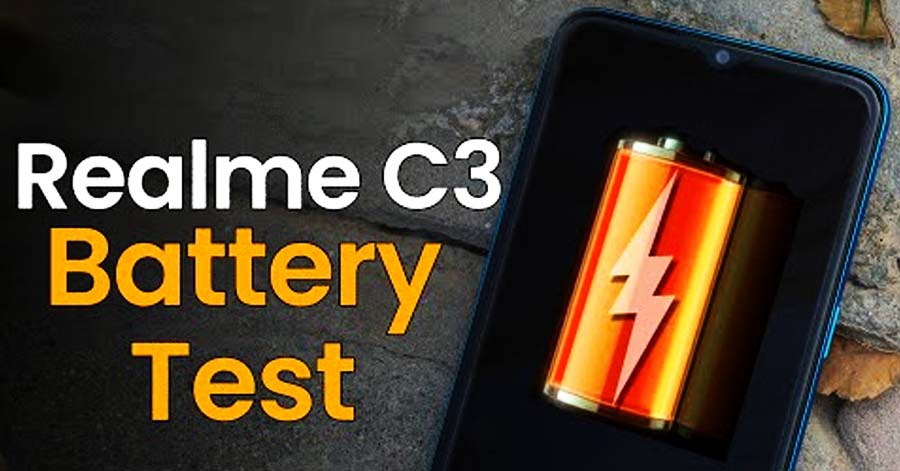 Realme C3 Battery Test